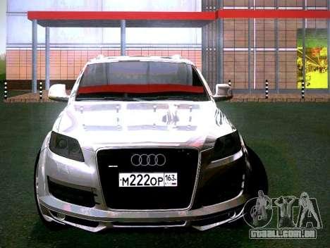 Audi Q7 para GTA San Andreas esquerda vista