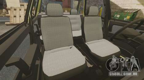 VAZ-Lada 21099 Companheiro para GTA 4 vista superior