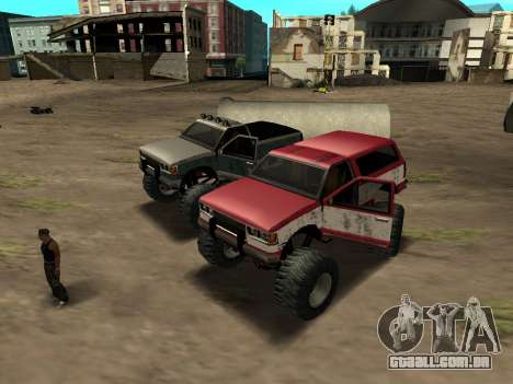 Street Monster para GTA San Andreas esquerda vista