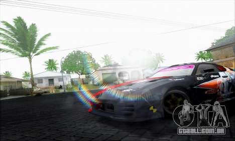 Lensflare By DjBeast para GTA San Andreas terceira tela
