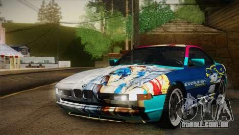 BMW M8 Custom para vista lateral GTA San Andreas