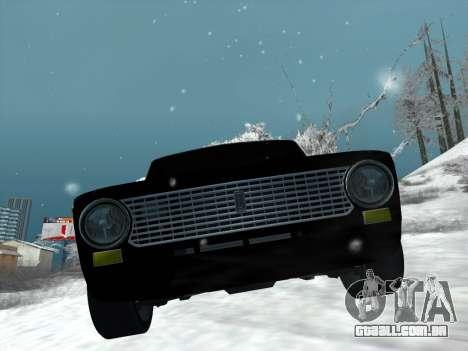ВАЗ 2101 Ajuste de Estilo para GTA San Andreas traseira esquerda vista