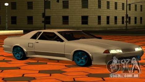 Elegy AssemblY para GTA San Andreas vista superior