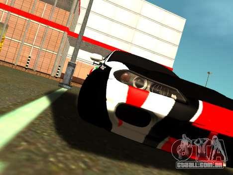 Nissan Silvia S15 Team Dragtimes para GTA San Andreas vista traseira