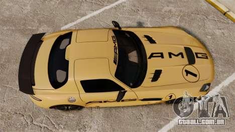Mercedes-Benz SLS 2014 AMG Driving Academy v2.0 para GTA 4 vista direita