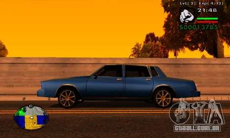 Faixa de máquinas HP para GTA San Andreas