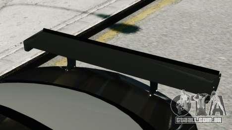 Mercedes-Benz C63 AMG Black Series 2012 para GTA 4 traseira esquerda vista