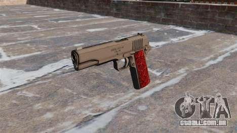 Armas Colt 1911 Chrome para GTA 4 terceira tela