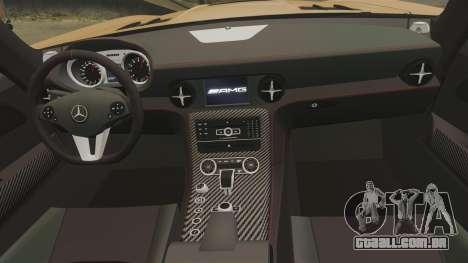 Mercedes-Benz SLS 2014 AMG Performance Studio para GTA 4 vista lateral