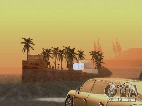 Nova ilha v1.0 para GTA San Andreas nono tela