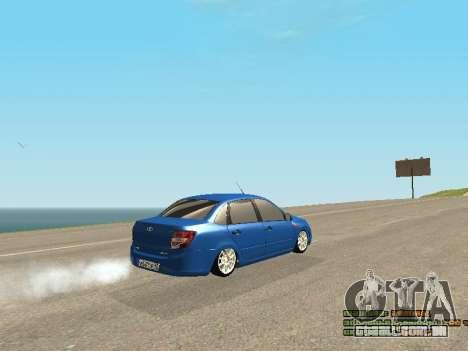 VAZ 2190 para GTA San Andreas vista inferior