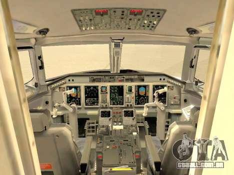 Embraer 175 HOUSE para as rodas de GTA San Andreas