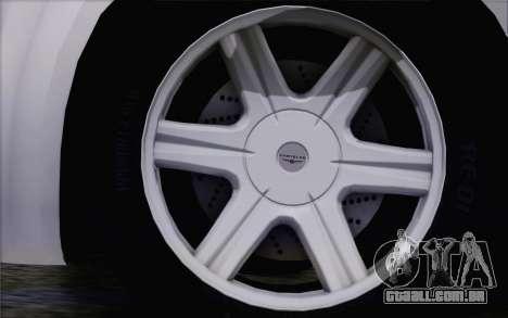 Chrysler 300C 2009 para GTA San Andreas vista direita