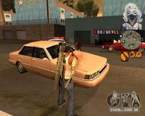 C-HUD Marilyn Monroe para GTA San Andreas