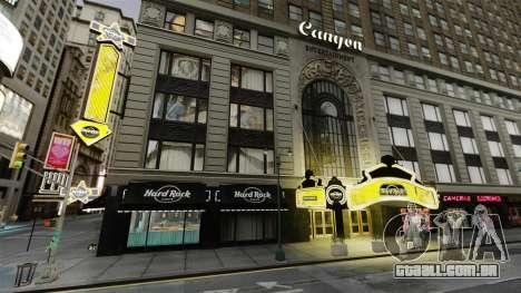 O Hard Rock cafe, em times square para GTA 4