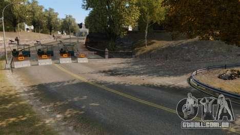 Pista de Rally para GTA 4 oitavo tela