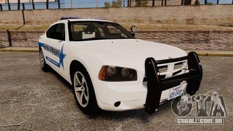 Dodge Charger 2010 Liberty County Sheriff [ELS] para GTA 4