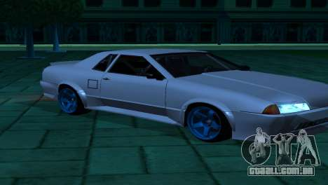 Elegy AssemblY para GTA San Andreas vista interior