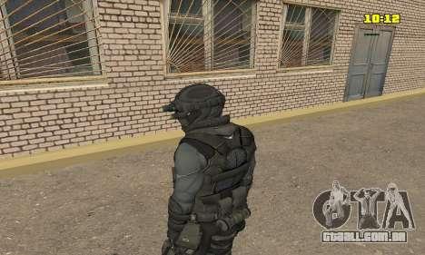 Arqueiro do jogo Splinter Cell Conviction para GTA San Andreas segunda tela
