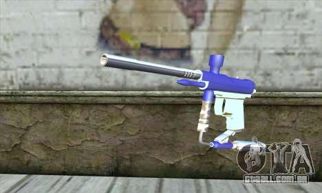 Paintball Gun para GTA San Andreas