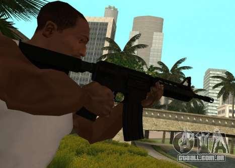 M4 CQB para GTA San Andreas segunda tela