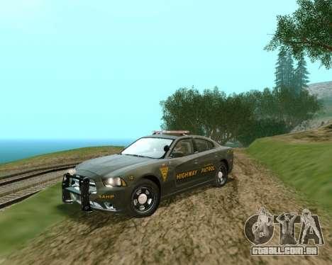 Dodge Charger 2012 SAHP para GTA San Andreas