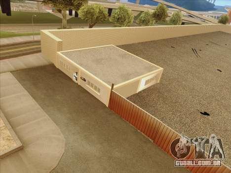 Atualizado texturas escola de condução para GTA San Andreas quinto tela