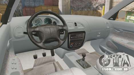 Daewoo Nubira I Wagon CDX PL 1998 para GTA 4 vista de volta