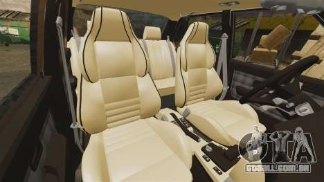 BMW 535is E28 Sharkie para GTA 4 vista superior