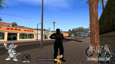 C-HUD Tom and Jerry para GTA San Andreas segunda tela
