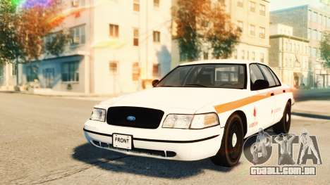 Ford Crown Victoria 2007 Vodafone para GTA 4