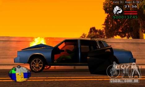 Faixa de máquinas HP para GTA San Andreas terceira tela