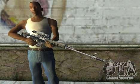 Rifle Sniper de um Stalker para GTA San Andreas terceira tela