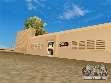 Atualizado texturas escola de condução para GTA San Andreas terceira tela