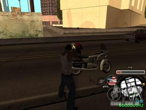 C-HUD Andy Cardozo para GTA San Andreas quinto tela