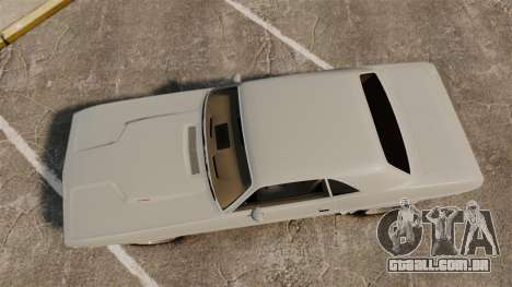 Dodge Challenger 1971 Vanishing Point para GTA 4 vista direita