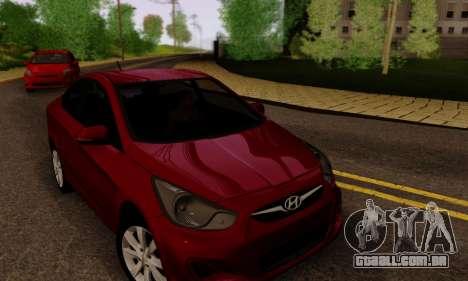Hyndai Solaris para as rodas de GTA San Andreas
