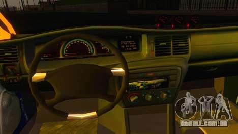 Opel Vectra B TUNING para GTA San Andreas vista traseira