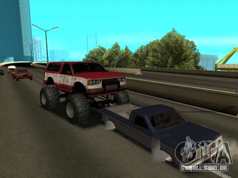 Street Monster para GTA San Andreas vista superior