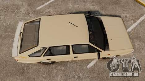 FSO Polonez Caro 1.4 GLI 16V para GTA 4 vista direita