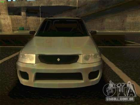 Mazda Demio 1998 para GTA San Andreas vista direita