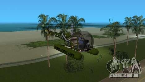 Bell 13H Sioux para GTA Vice City