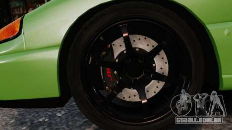 Dodge Stealth Turbo RT 1996 para GTA 4 vista superior