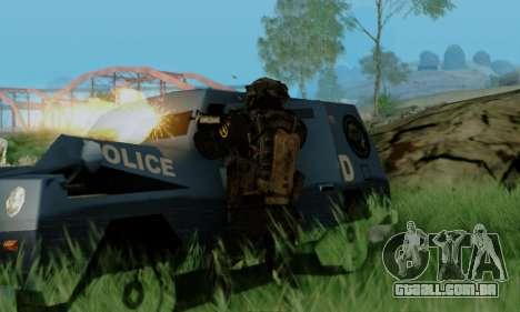 Kopassus Skin 3 para GTA San Andreas terceira tela