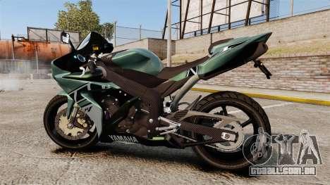 Yamaha R1 RN12 [Update] para GTA 4 esquerda vista