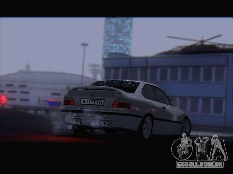 BMW M3 E36 para GTA San Andreas vista superior