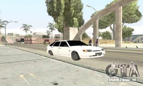 VAZ 2114 Avtosh para GTA San Andreas esquerda vista