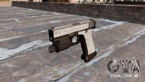 A pistola Glock de 20 ACU Digital para GTA 4 terceira tela