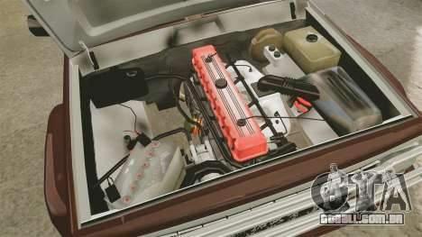 Jeep Carver 6X6 para GTA 4 vista de volta