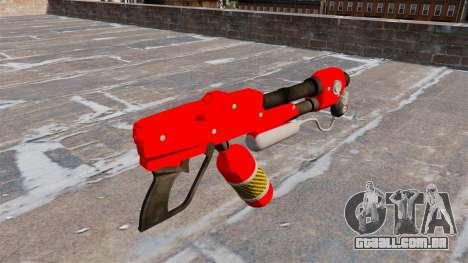 O lança-chamas MX-295 para GTA 4 segundo screenshot